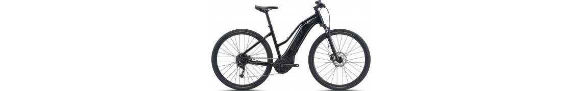 Giant Roam E+ STA Black S 2021
