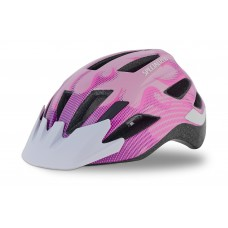 Přilba Specialized Shuffle Led Ce Pink FLAMES Chld