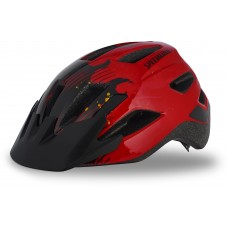 Přilba Specialized Shuffle Led Ce Red/Black FLAMES Child